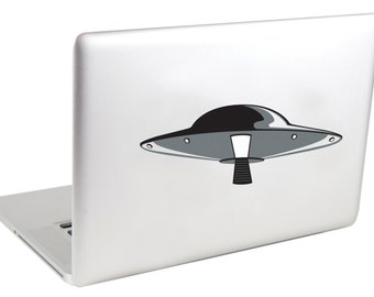Discintosh UFO Laptop Decals by Suzie Automatic