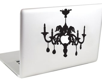 Chandelier MacBook Decal by Suzie Automatic