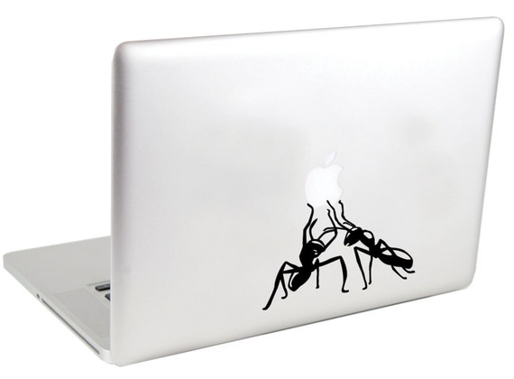 Carried Away by Ants MacBook Decal by Suzie Automatic