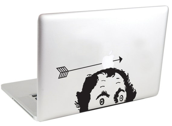 William Tell's Apple MacBook Decal by Suzie Automatic