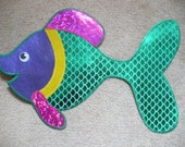 Fish Wall Hanging, large and colorful