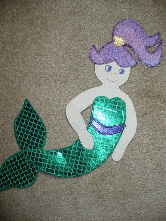Large Playful Mermaid Wall Hanging/Art