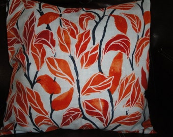 Laura Gunn Poppy Collection 16 x 16 Pillow Cover