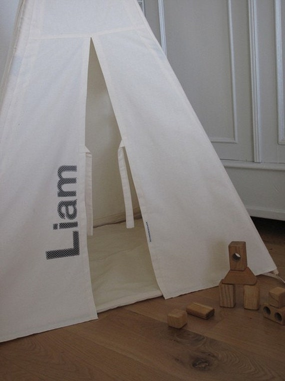 Indoor play teepee - personalised