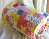 PRIMARY  -  All Cotton Quilt - Unisex -  Embroidery Details (no flower prints)