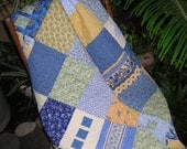 French Country all cotton quilt - Reversible
