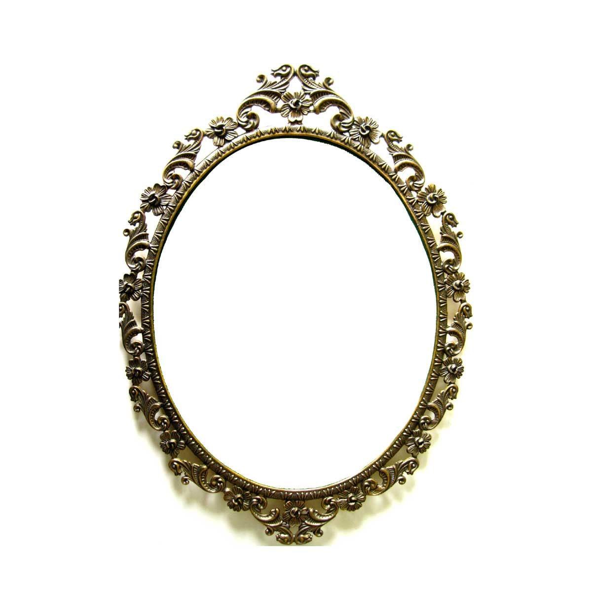 Large Ornate Oval Filigree Frame Italy Victorian frame shabby
