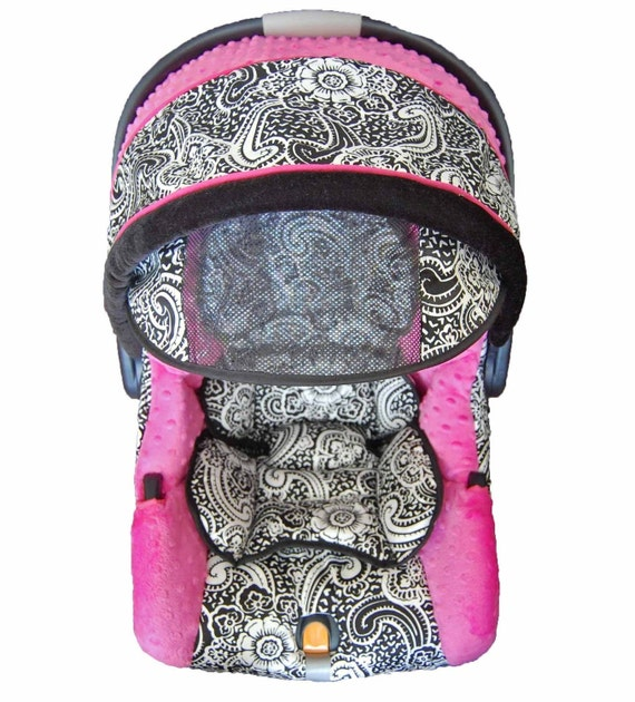 boutique chicco keyfit infant baby car seat cover paisley. Black Bedroom Furniture Sets. Home Design Ideas