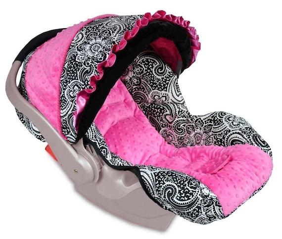 boutique graco snugride infant baby car seat cover paisley. Black Bedroom Furniture Sets. Home Design Ideas