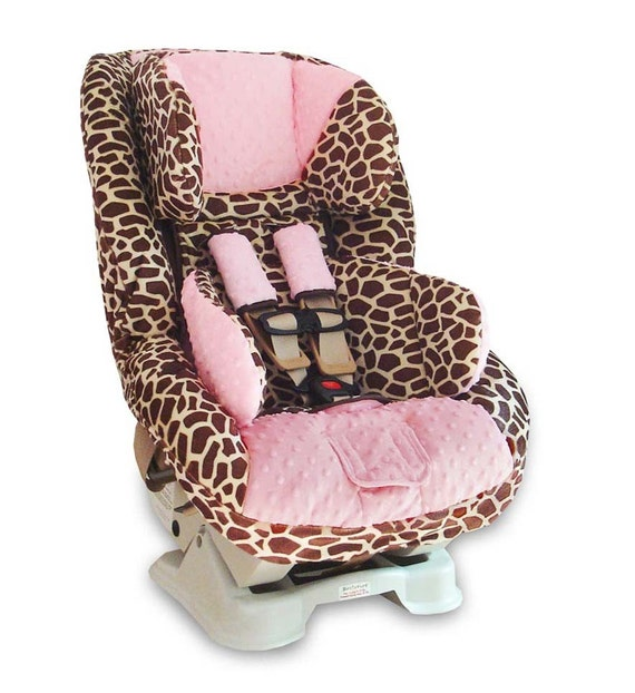 boutique cover 4 britax boulevard car seat giraffe w light. Black Bedroom Furniture Sets. Home Design Ideas