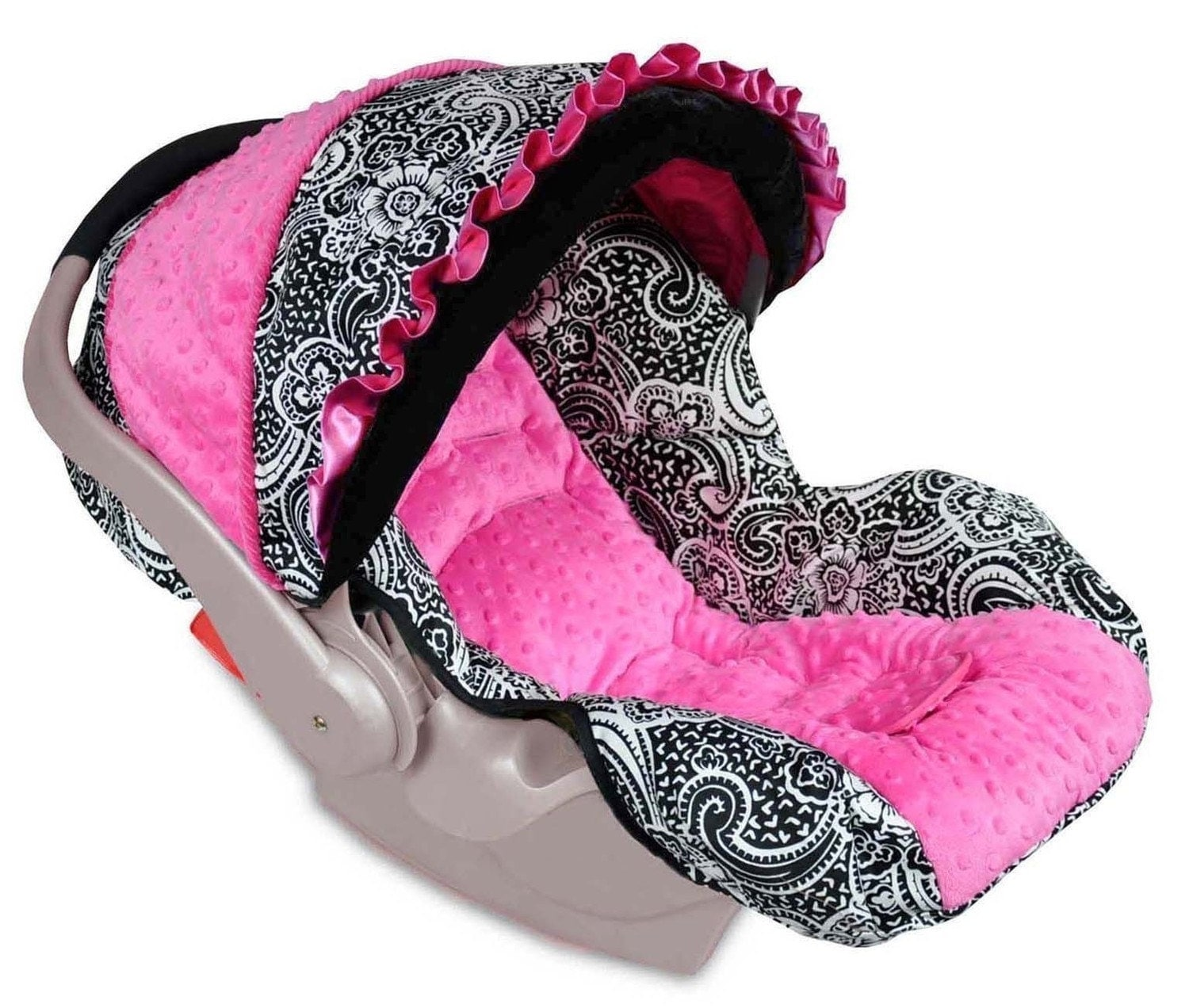 boutique graco snugride infant baby car seat cover paisley