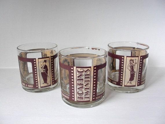 Vintage ROARING TWENTIES Glasses / Barware Set (SALE)