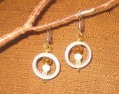 Circle of Love - Glass Earrings