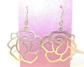 Lotus Earrings handcrafted with balance