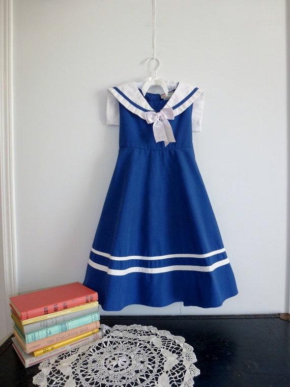 Nautical Dress, Size 6X