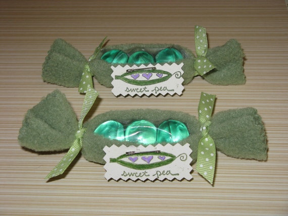 items similar to sweet pea or pea in a pod baby shower favor on etsy