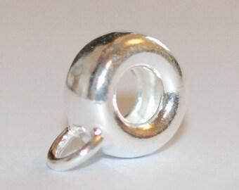 1 X 925 sterling silver slide pendant (12072pend)