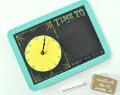 Mini Goals Clockboard - Old Timey - Wavy/Buttery