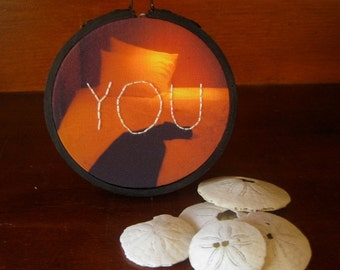 Hand Embroidered Wall Art, You