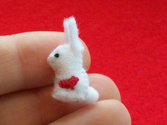 Tiny Valentine Bunny