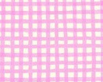 Price Reduced! Aunt Lindy's Squares in Pink (7172) - BTY - Blue Hill Fabrics