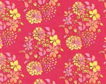 Price Reduced!  Sugar Drop in Pink (TG75) - Olivia's Holiday - BTY - Free Spirit