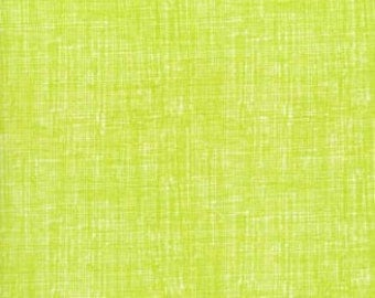 Lime Texture Organic Cotton (OC8224-LIME) - BTY - Timeless Treasures