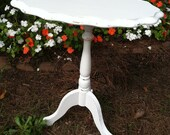 Table, Shabby Chic End Table - Shipping not included