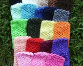 3 Inch Wide CROCHET Headbands Boutique BABY GIRL---You Pick 10---For Hair Bows---Flower Clips---