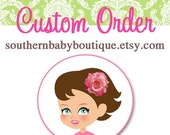 CUSTOM Order for Tay Only