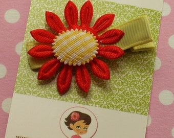 Boutique Baby Girl Toddler Clippy------SUNFLOWER----1.95 SALE