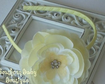 SUPER SALE----Rhinestone Flower Headband--------TAMMIE
