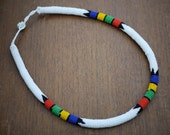 White Zulu Necklace - Small