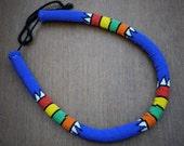Blue Zulu Necklace - Medium