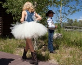 Adult Tutu Overalls - Custom - Wedding, Birthday, Play - You ChooseSize and Color(s) ADULT Size UP TO Size 14
