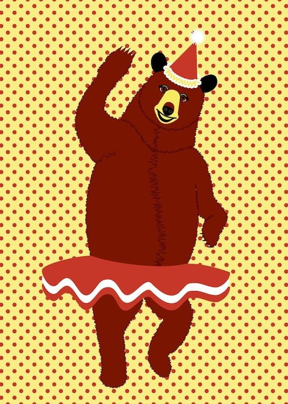 Break dancing bear-5917