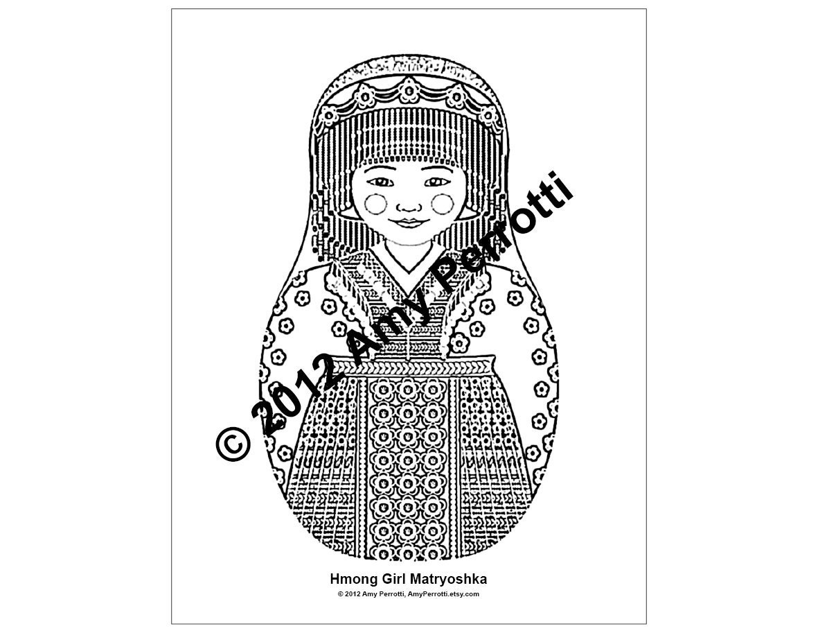 hmong coloring pages for kids - photo#8