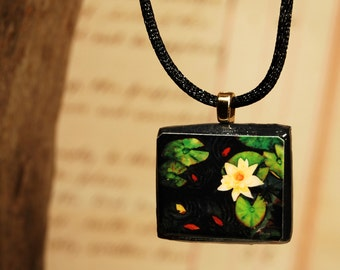 Tiny Bits of Nature - Koi Pond - Necklace - Small