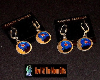 MoonWatch Cloisonne Earrings