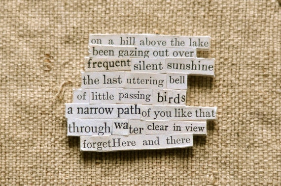 frequent silent sunshine - RESERVED - chosen words poem