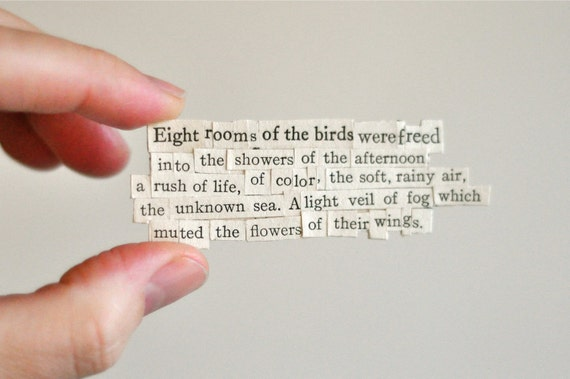 the flowers of their wings - chosen words poem