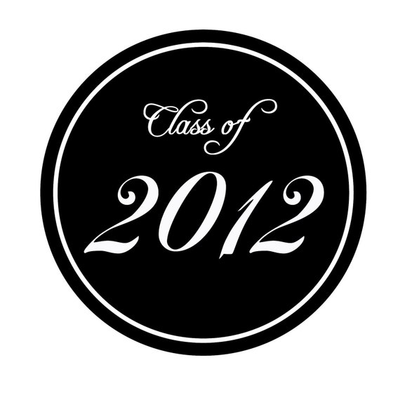 Graduation Personalized Stickers Set of 80 Great for envelope seals