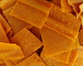 Apricot Ginger Fruit Leather Bites - 2 oz. - GREAT for you AND your dog