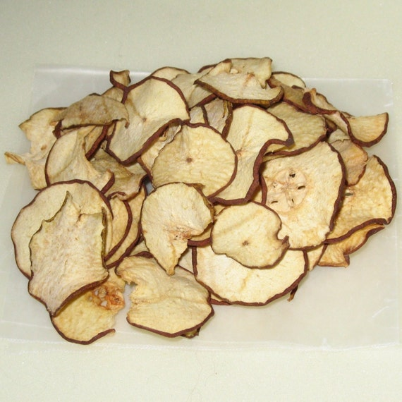 Dried Apple Chips - 1.5 oz. - GREAT for you AND your dog