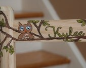 Hand Painted Childs Rocking Chair CUSTOM
