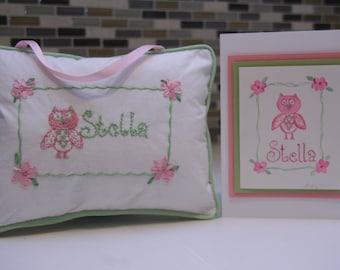 Pillow Name Signs CUSTOM