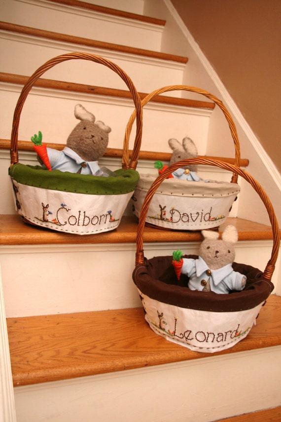 Custom Easter Basket for Jackson