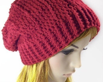 """Team Vampire Slouch Hat """"""""""""P A T T E R N"""""""""""""""
