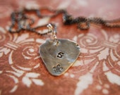 Guitar Pick Necklace by Shelby Evans