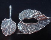 COUPON SALE...27MM Leaf Sterling SilverToggle Clasp -ST305